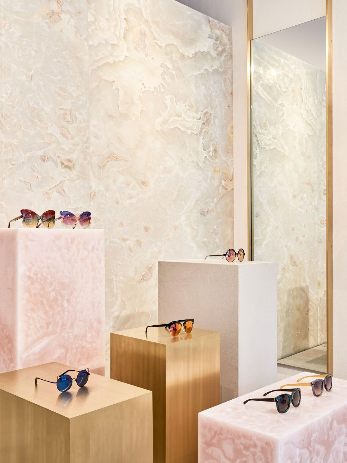 Studio Giancarlo Valle Designs Linda Farrow's First US Store in SoHo, New York City | Yellowtrace