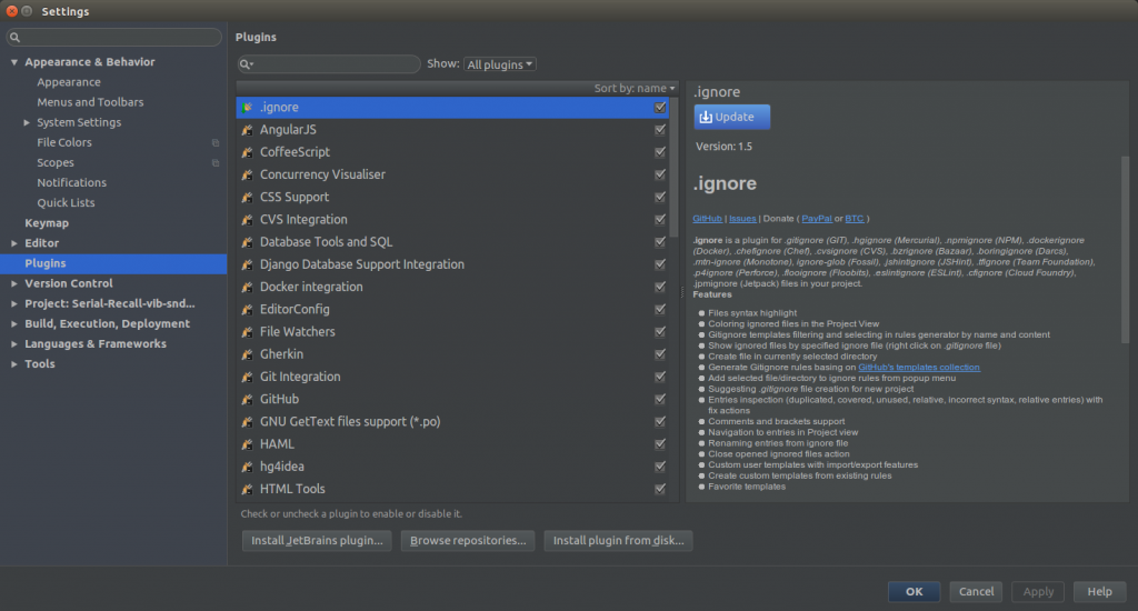 PyCharm vs Spyder - cool plugin support of PyCharm