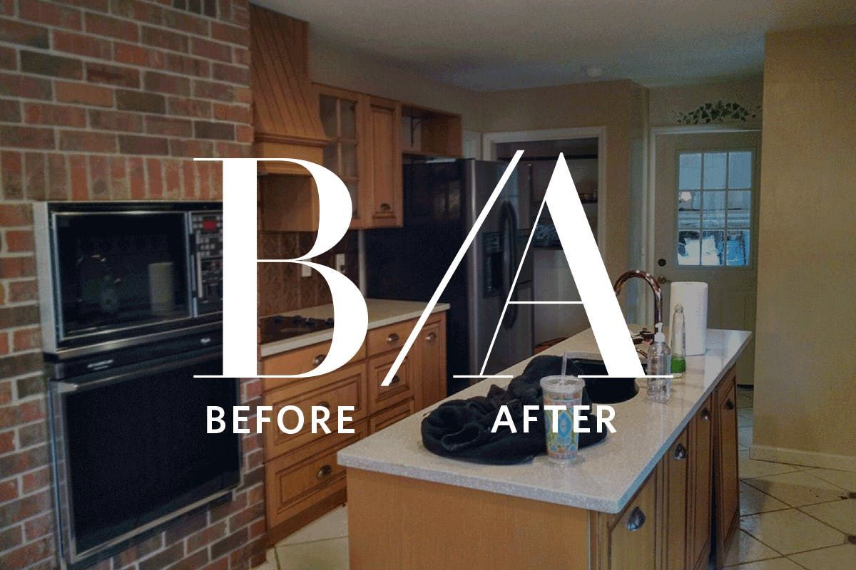 Before u after a k makeover of an outdated us kitchen kitchens