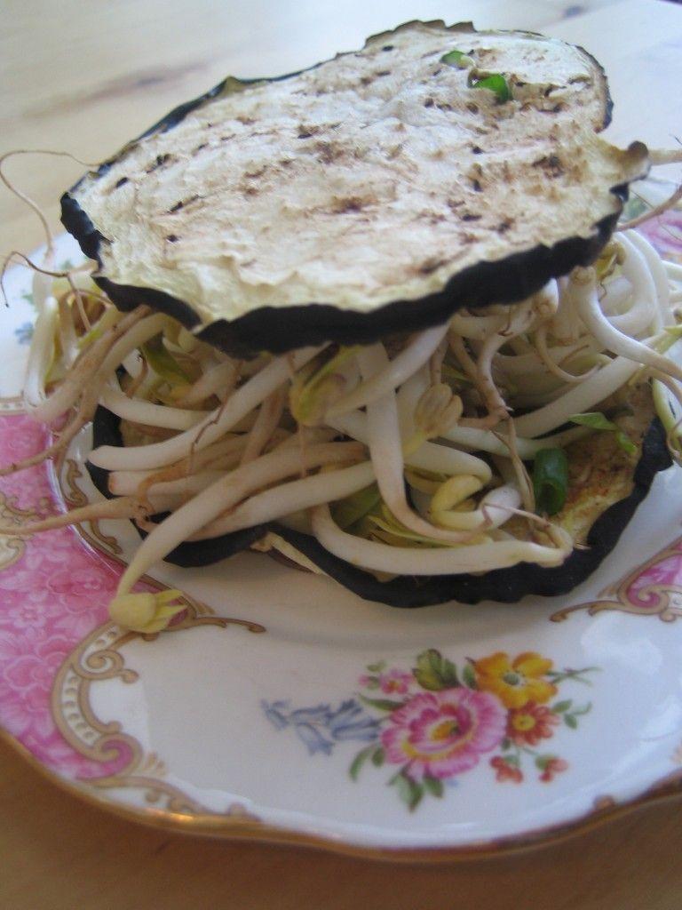 how to bread eggplant vegan