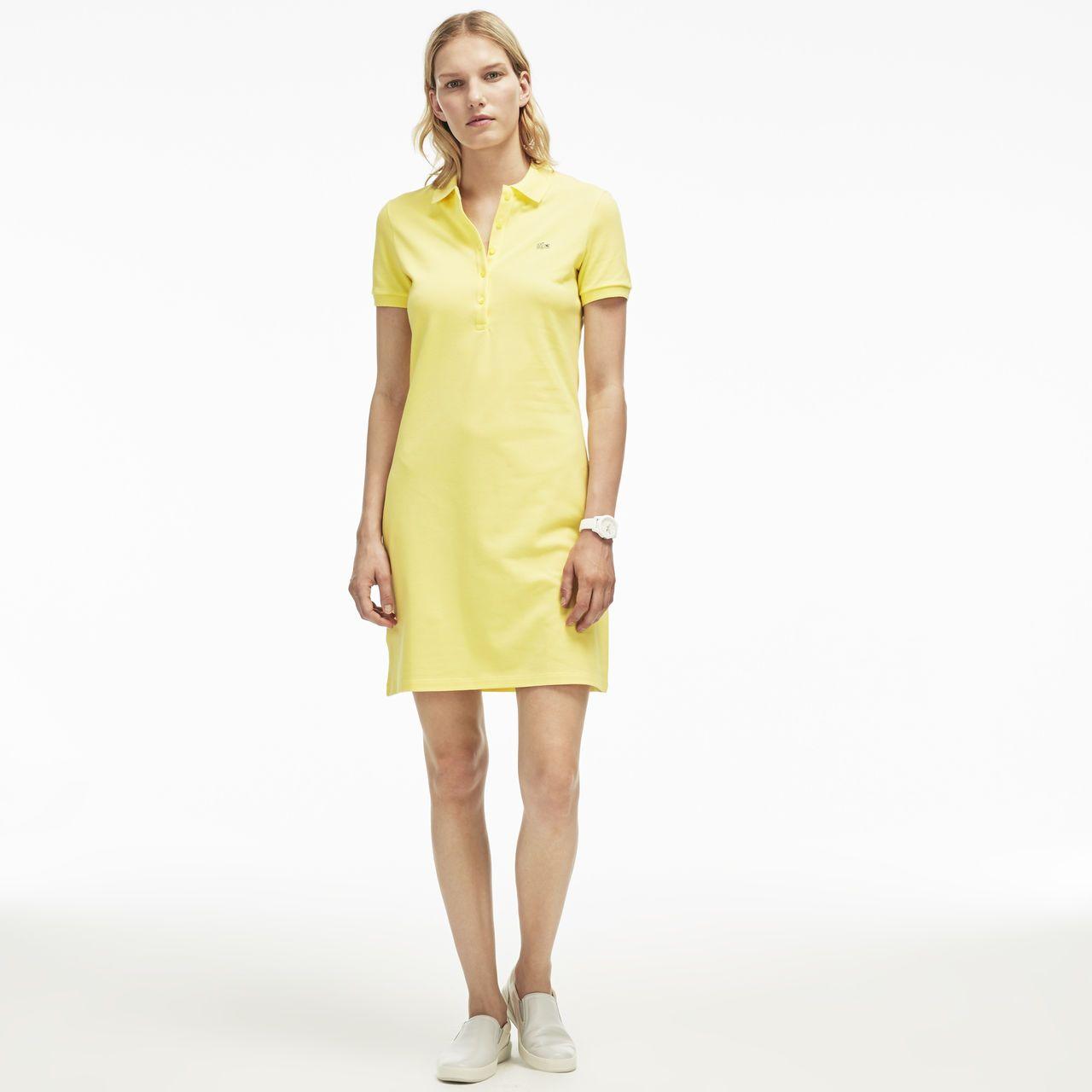 Vestido da Lacoste amarelo.   Fashion and Style 298fc55332