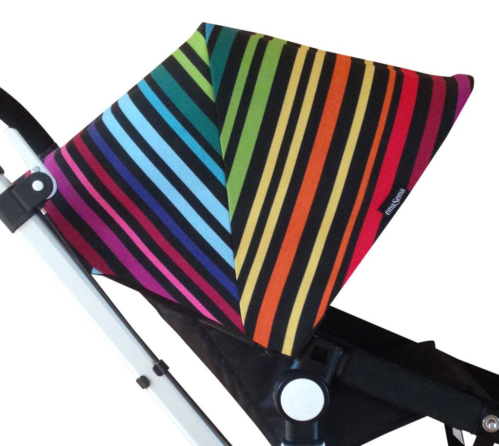 Babyzen Yoyo Vs Bugaboo Bee 3 Fun And Colorful Rainbow Hood For Your Bugaboo Stroller And