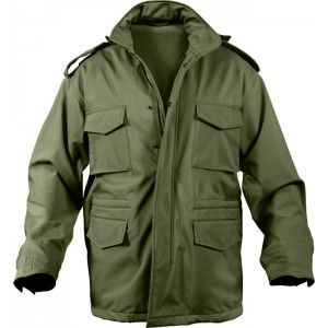 Olive Drab Military Soft Shell Tactical M-65 Field Jacket in 2019 ... 29fb6c646f8