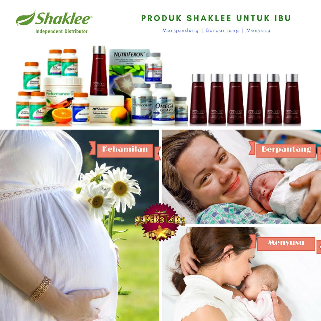 Produk Shaklee Untuk Ibu Mengandung Set Bersalin