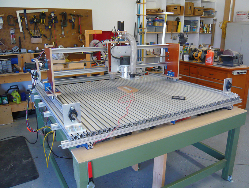 Project Gallery TSLOTS Cnc router table, Cnc, Cnc router