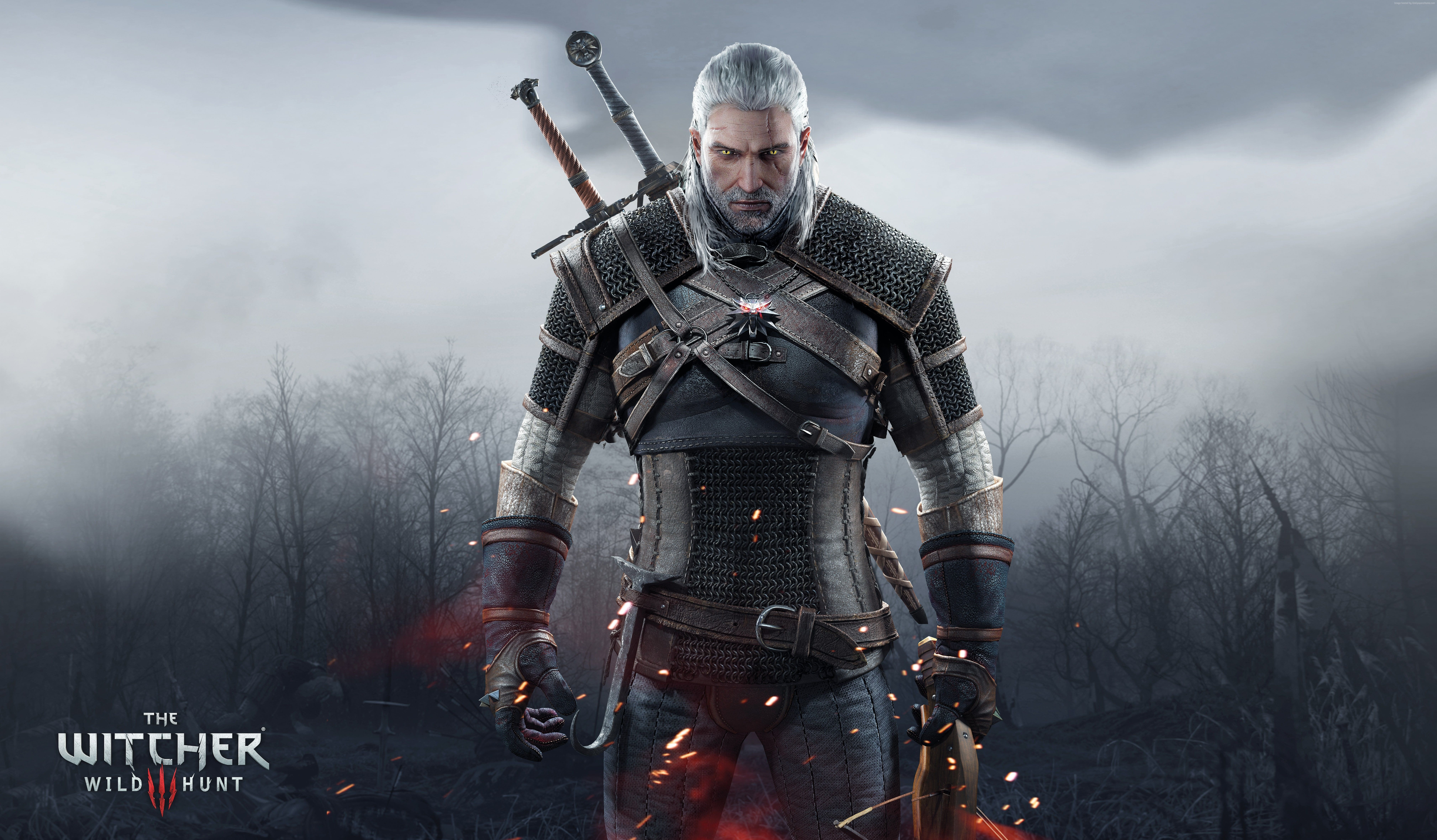4k The Witcher 3 Wild Hunt 5k 8k Wallpaper Hdwallpaper Desktop In 2020 The Witcher The Witcher 3 Wild Hunt