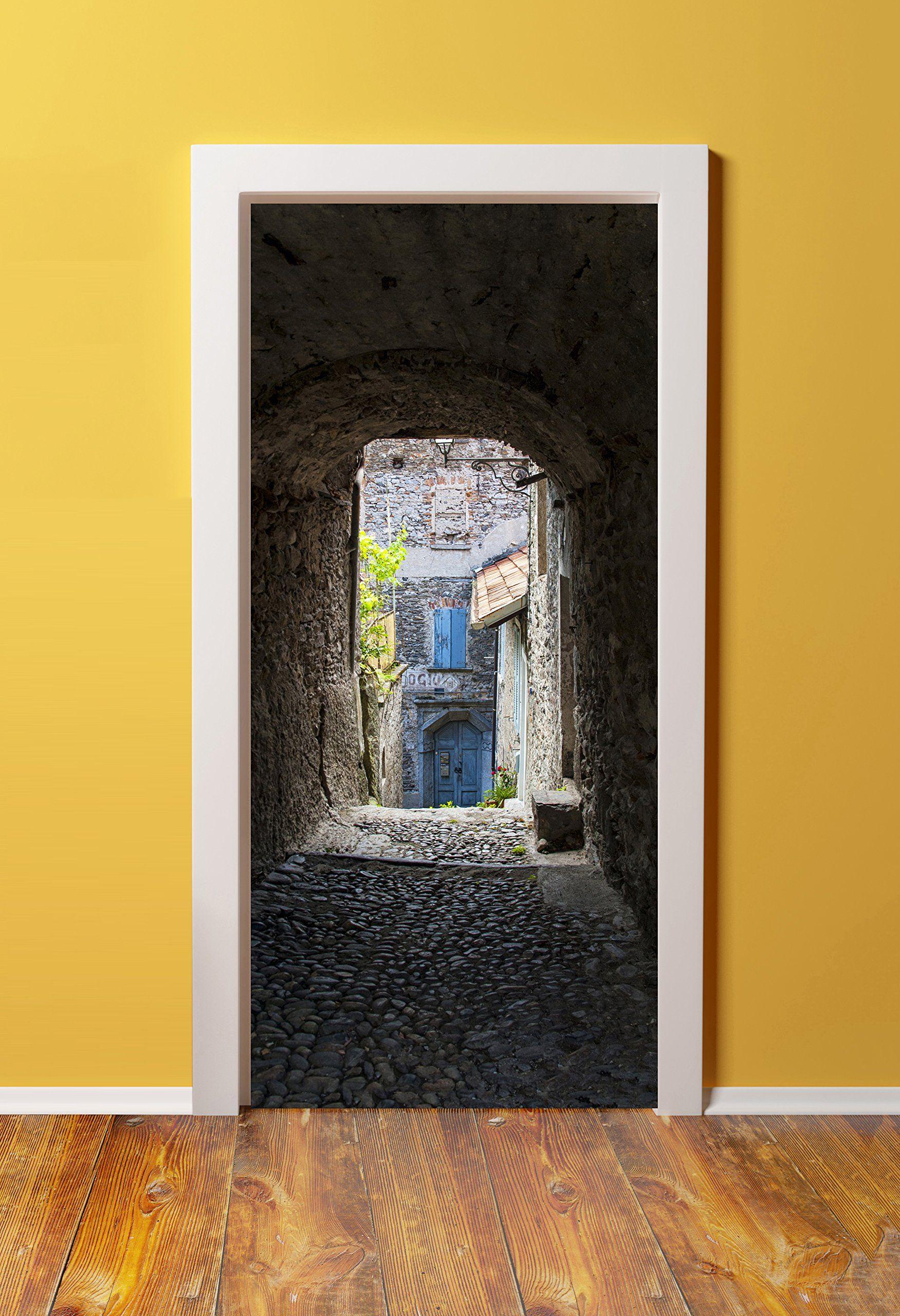 32x80 Canvas 3d Door Sticker Murals Peel