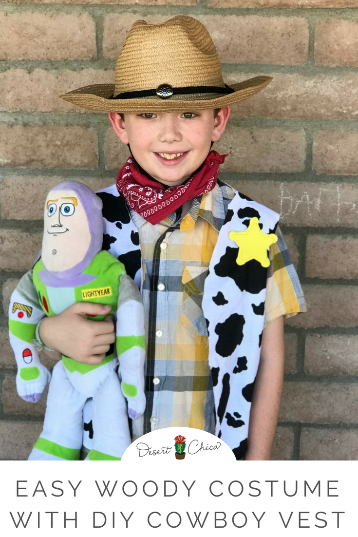 Make your own no-sew Cowboy Woody vest with this tutorial  93d49f2e42a