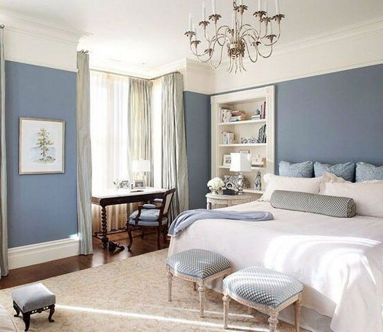 40 Luxury Small Bedroom Design And Decorating For Comfortable Sleep Ideas White Bedroom Decor Light Blue Bedroom Blue Master Bedroom Turquoise and white pearl bedroom