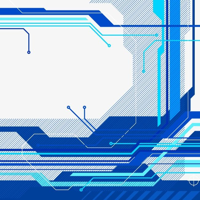 Blue Technology Background Blue Science And Technology Circuit Diagram Png And Vector Technology Background Background Technology