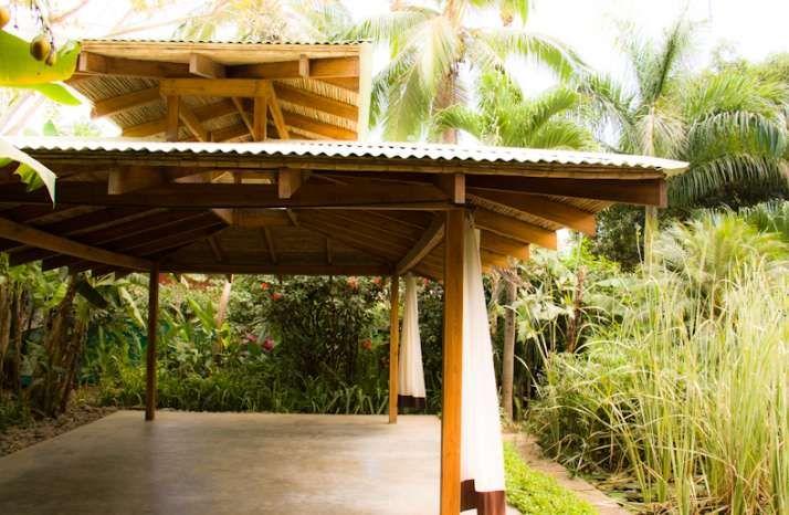 Free Yoga Open House Harmony Healing Centre Yoga In Nosara Outdoor Structures Outdoor Pergola
