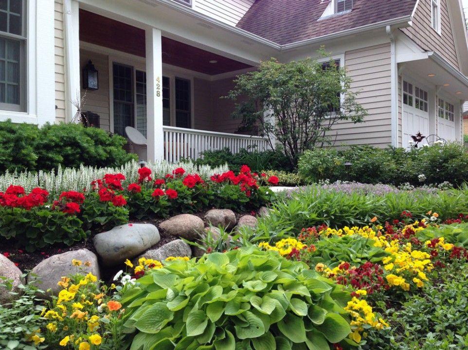 Yard Flowers Landscaping Yard Landscaping Design Ideas