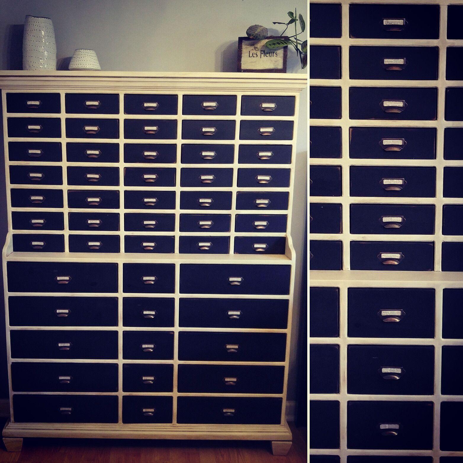 Apothecary Storage Unit