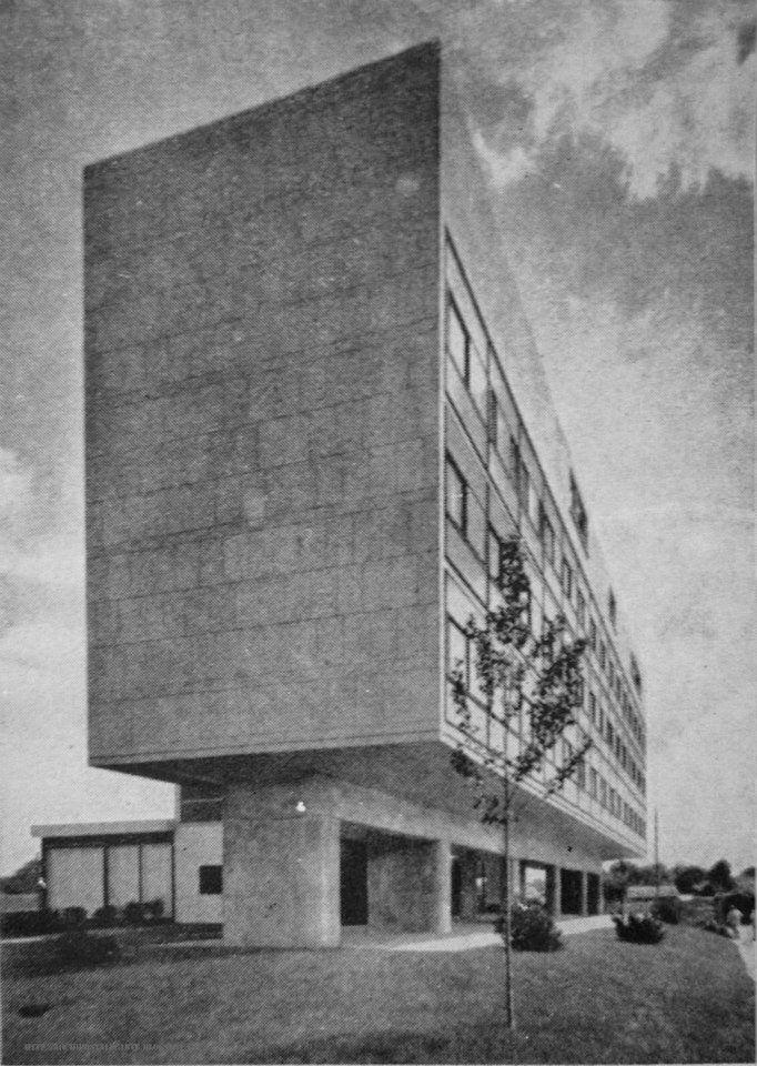 swiss pavilion paris france 1930 le corbusier. Black Bedroom Furniture Sets. Home Design Ideas