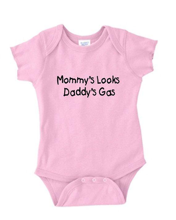 9fa2b1f88 Mommy's Looks Daddy's Gas newborn infant baby boy by HotRockPress, $14.00