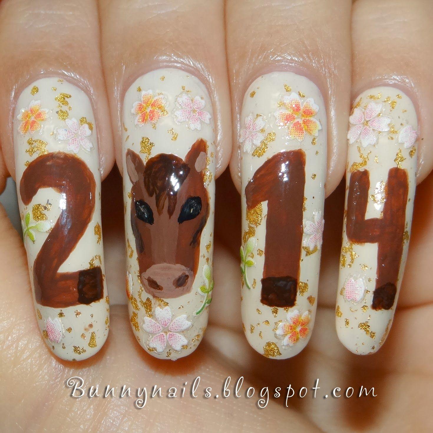 Horse Nail Art - Horse Nail Art Nails ~ Animals Pinterest Horse Nail Art, Horse