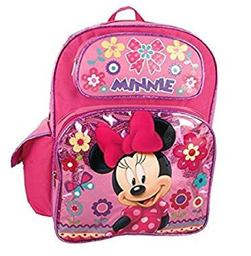 72189dec73 Disney Minnie Mouse Shine Pink 12 Backpack -- Click for Special Deals   DisneyLuggages