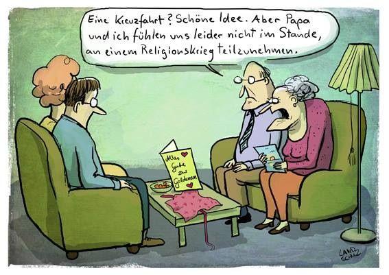 Kreuzfahrt Zur Goldenen Hochzeit Lustige Cartoons Lustig
