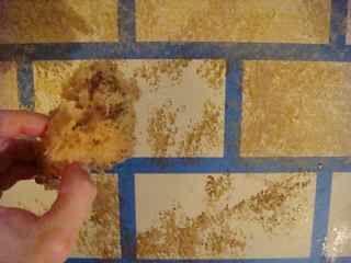 Quieres saber el truco para pintar el efecto de muro de for Pintura efecto piedra