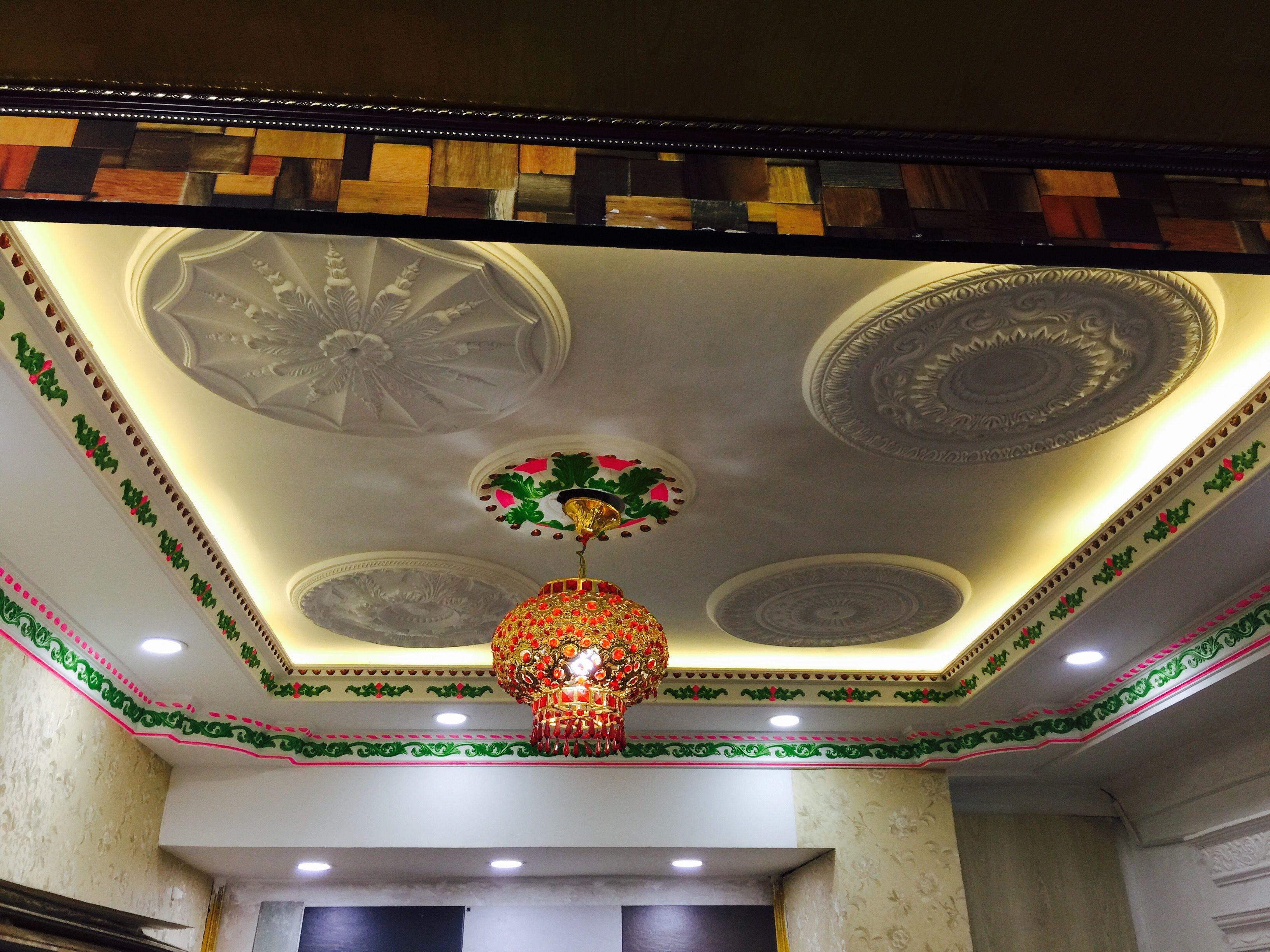 Manufacturer of Gypsum False ceiling - Gypsum Ceiling Work ...
