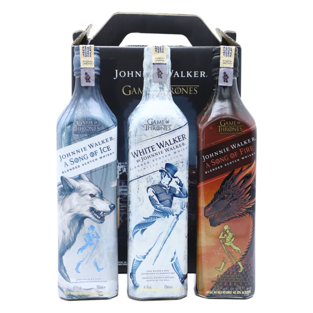 Game Of Thrones Johnnie Walker Limited Edition Collection