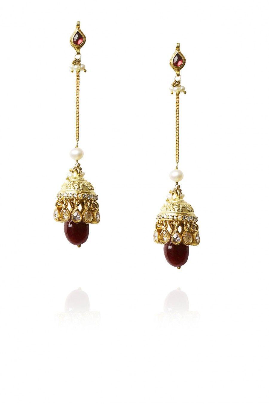 Perniaspopupshop Earring Artkarat Jewellery Shopnow Happyshopping Gold Jhumka Earrings Jewelry For Her Beautiful Jewelry