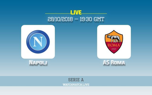 Napoli Vs AS Roma TV Channel Live Stream How To Watch