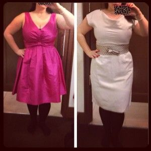 Banana Republic Betty Dress on a real person