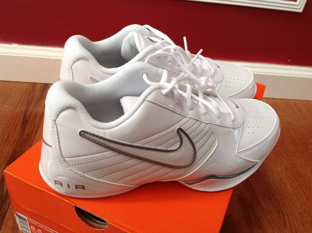 24ddecc3da5b Nike Air Baseline Low White Men Athletic Running Sneaker Shoes Size 10 New   Nike  AthleticSneakers
