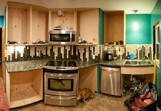 Retro Kitchen With Graphic Backsplash Tile Retro Kitchen Backsplash Ideas,  Make It Desirable By Your Own Taste Kitchen Design