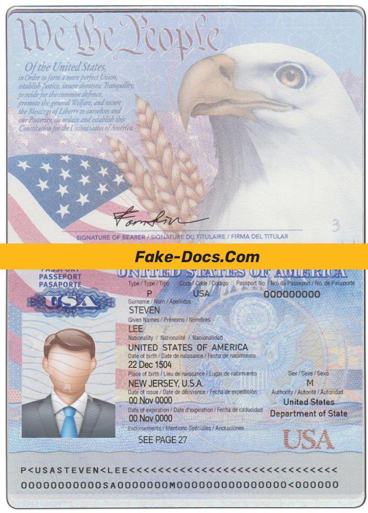 Usa Passport Psd Template Free Download In 2021 Love Photos Cool Photos Usa Passport