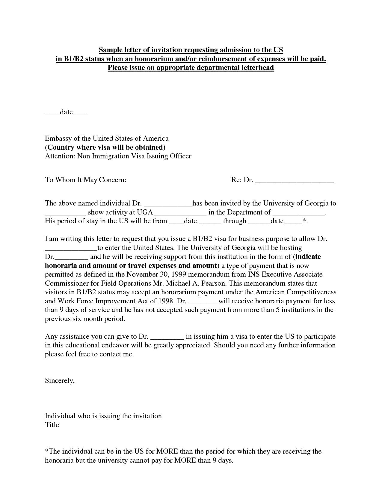 Complaint Letter Requesting Reimbursement For Sample Residency