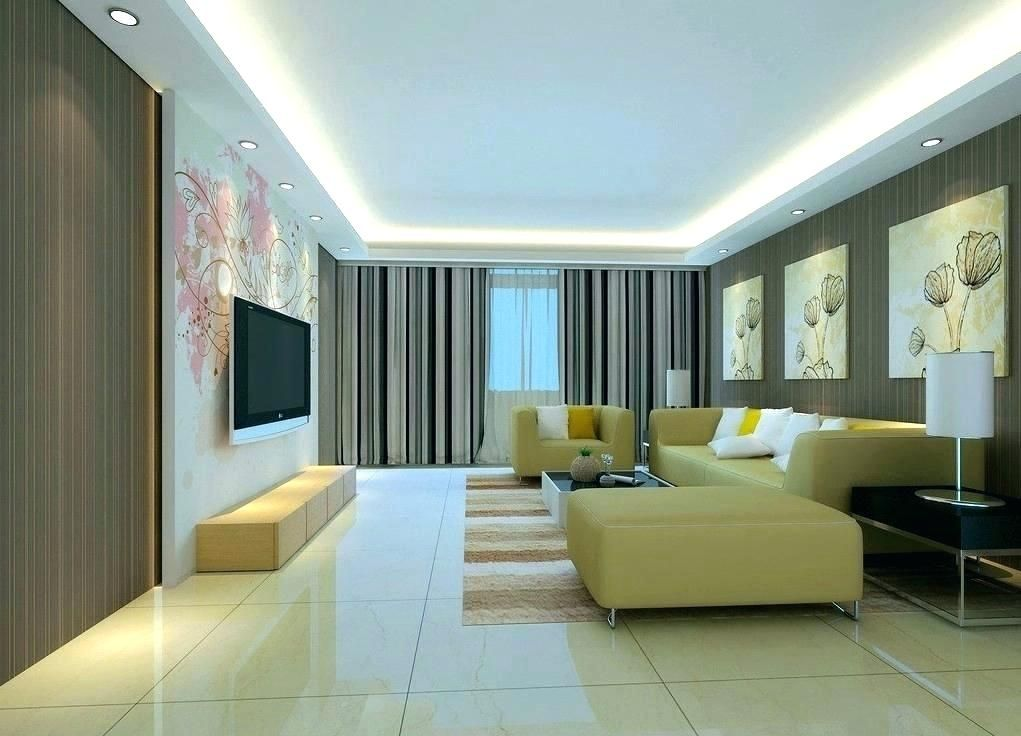 30 Cool Simple Living Room Ceiling Designs Tyuka Info In 2020