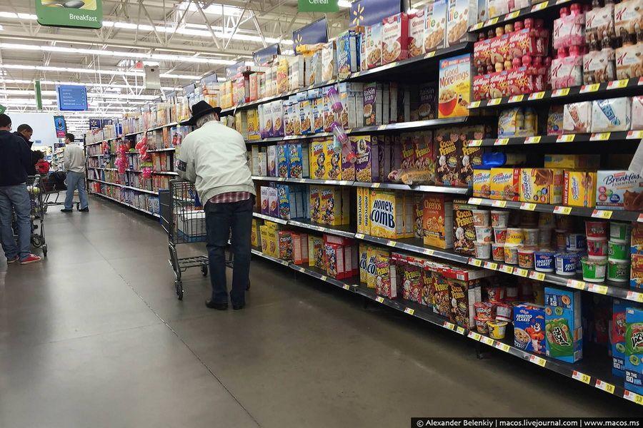 Американский супермаркет фото
