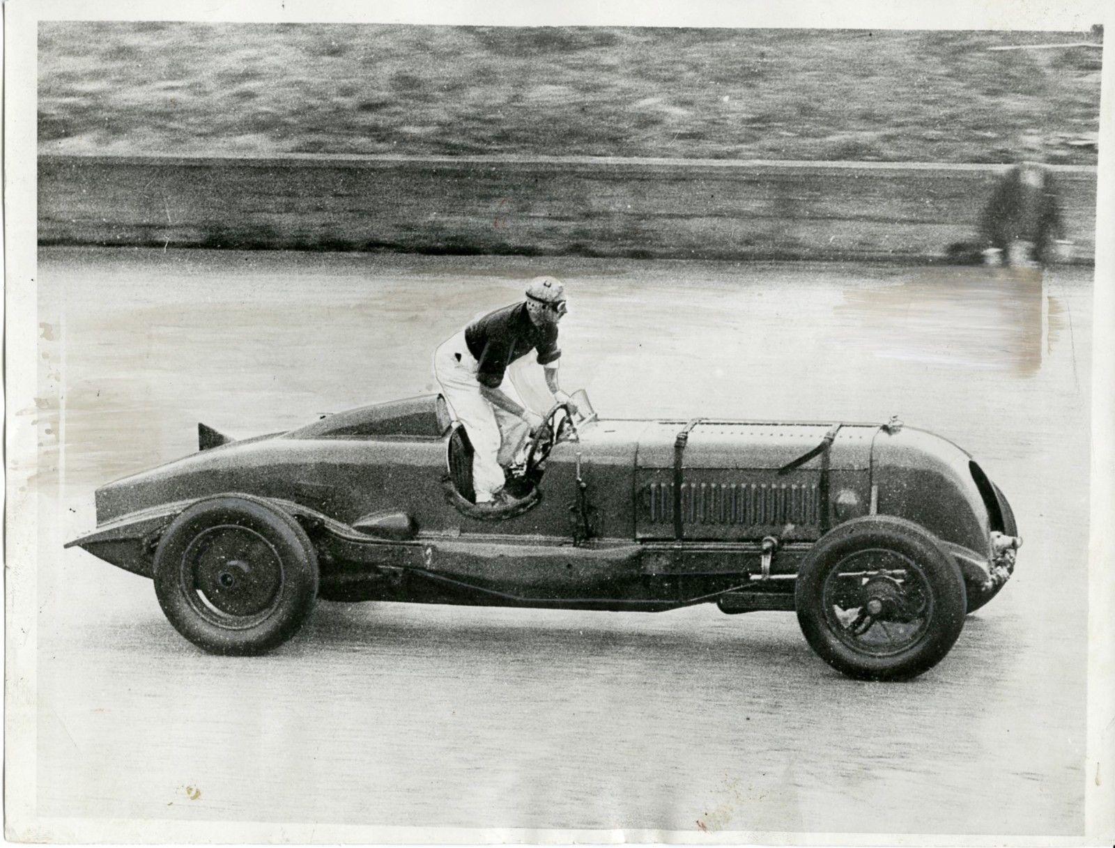"1931 Sir Henry ""Tim"" Birkin Bentley on Fire Brooklands"