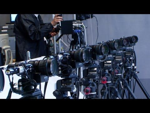 Multi-viewpoint robotic camera system creates real bullet time slow motion replays #DigInfo - YouTube