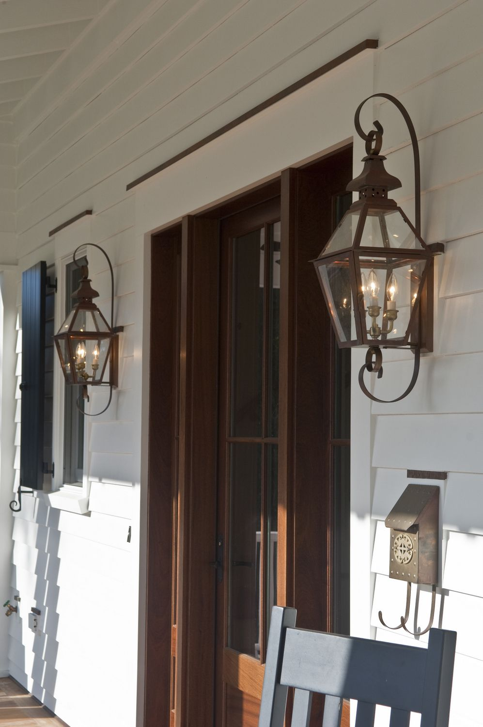 The Tradd Street II Lantern — Gas or Electric | The ... on Decorative Wall Sconces Non Electric Lights For Closets id=33741