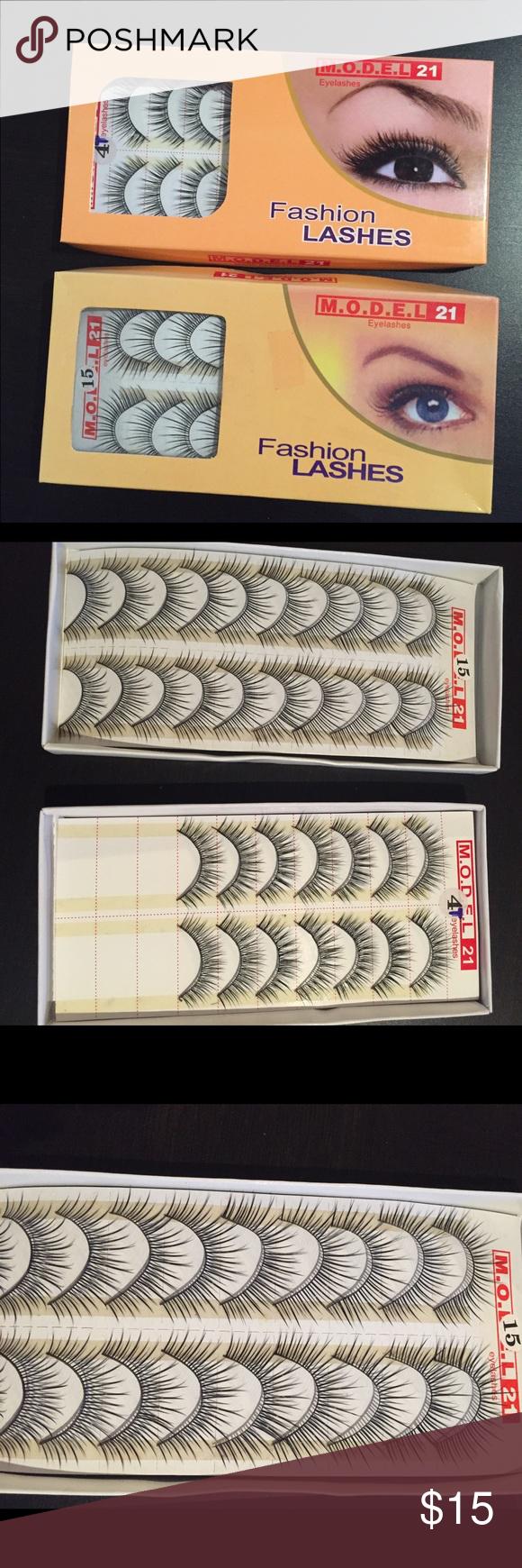 FALSE EYELASHES Two sets of false lashes. Price to sell Makeup False Eyelashes