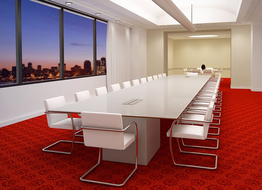 Back Painted Glass Conference Tables | Fulbright Glass Boards