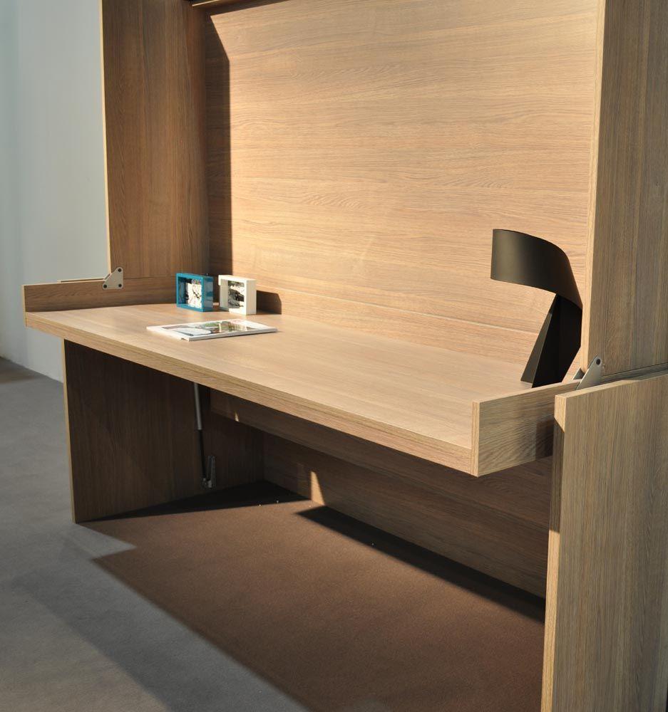 Lit Bureau Moderne \'House 140\' : Armoire Lit Bureau & Canapés, Lit ...
