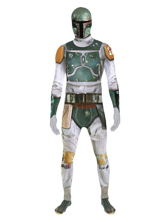 Digital Morphsuit Star Wars Boba Fett Ganzkörperkostüm