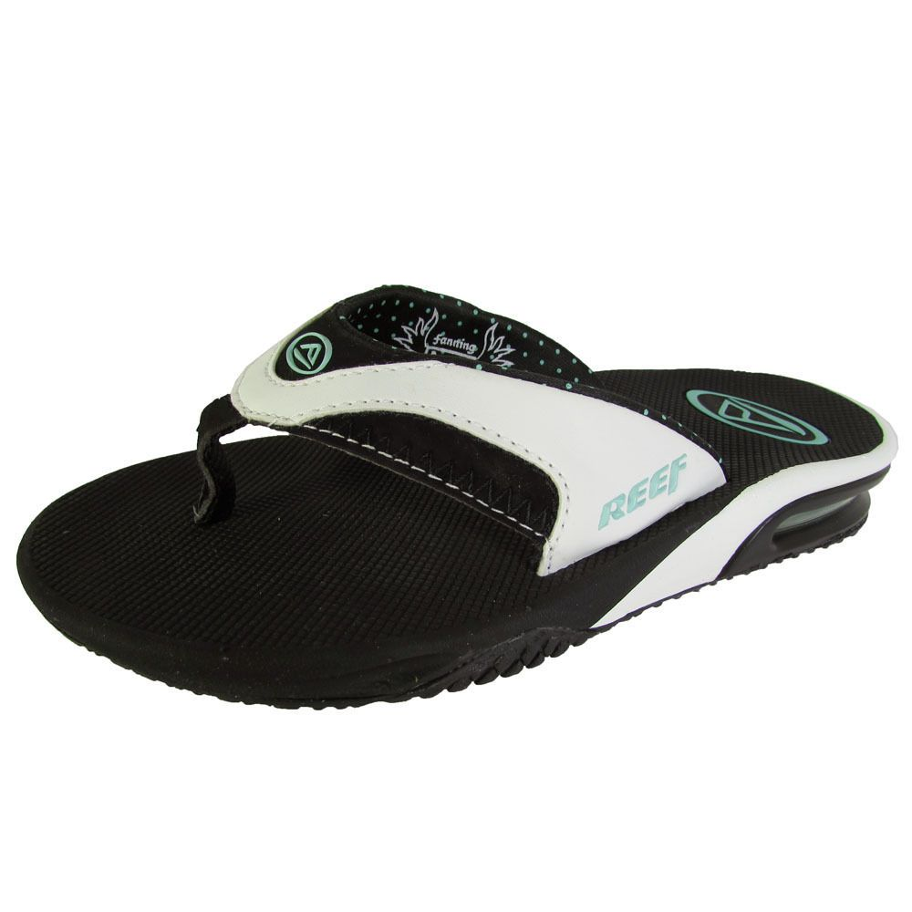 3c624c448 Reef Womens Fanning Thong Flip Flop Sandal Shoes