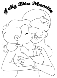 Resultado de imagen para dibujo de papa e hijo para colorear