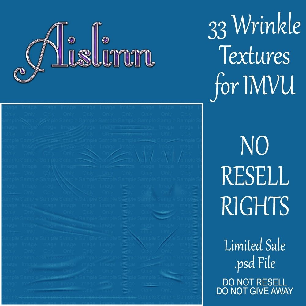 33 fabric wrinkle textures for imvudo not resell these files no