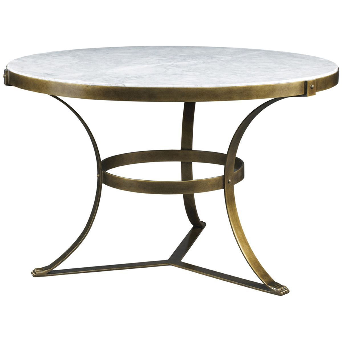 Lillian August Piers Round Center Table Center Table Round