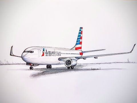 SPEED DRAWINGAMERICAN AIRLINESBoeing 777 200 ER
