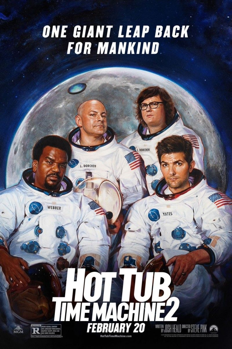 Hot Tub Time Machine 2 Hot Tub Time Machine New Movie Posters