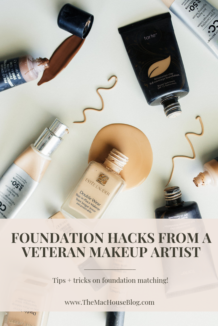 Learn to match your foundation from a professional.