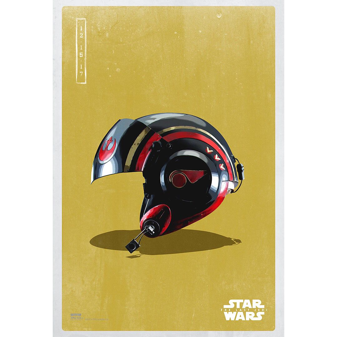 Art awakens in these new light side posters for #StarWars ...