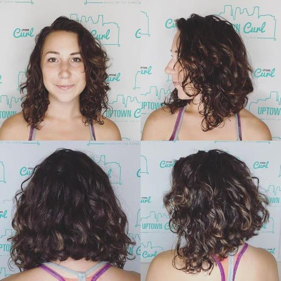 15 The Most Beautiful Curly Long Bob Hairstyles | Beauty ...